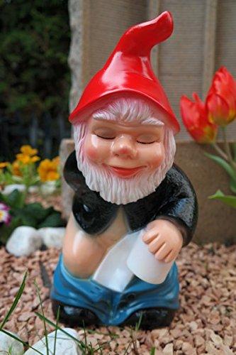 Gartenzwerg Scheisserle aus bruchfestem PVC Zwerg - Made in Germany Figur (Sklaven-figuren)