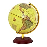 #4: Non-brand Retro Style Geographical World Globe Map Lights Lamp Toy Educational Yellow