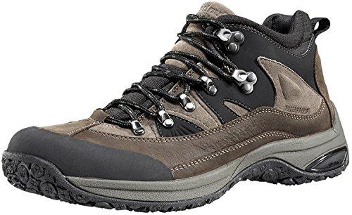 Dunham Men's Cloud Mid-Cut Waterproof Boot, Brown/Brown - 8.5 D(M) US (Boot Dunham Schuhe)