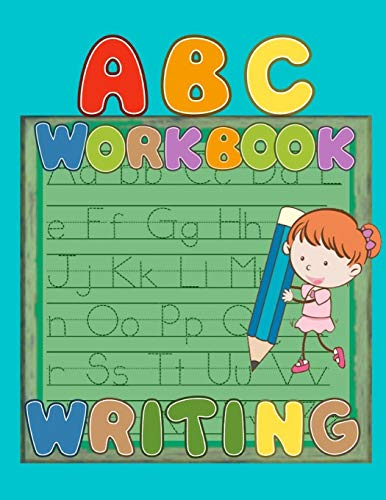 : Preschool Practice Handwriting Workbook, Kindergarten and Kids Ages 3-5 Reading And Writing, ABC Letter Tracing for Preschoolers ... Book to Practice Writing   for Kids Ages 3-5 ()