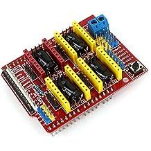 CNC Shield A4988 Destornillador Tarjeta De Expansión para Arduino 3D Impresora