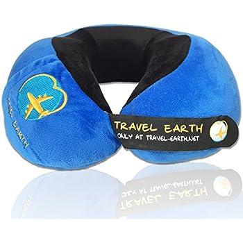 UDREAM coussin de voyage ergonomique ✮ Garanti 5 ans ✮ Oreiller de voyage à mémoire de forme ultra doux et réglable pour dormir en avion, voiture, maison. Sac de transport Udream OFFERT !