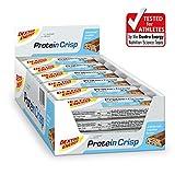 Dextro Energy Eiweißriegel Karamell-Cookie | 24 x 50g Crispy Protein Riegel | Ideale Protein Bar und Energieriegel | Protein Cookie Alternative
