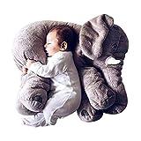 Elefant Kuscheltier stofftier Elefant plüschtier Spielzeug 60cm, Grau