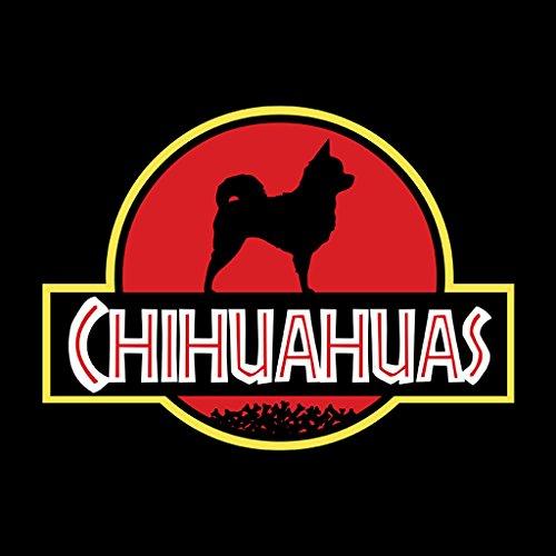 Coto7 Chihuahuas Dog Jurassic Park Mix Women's Vest Black