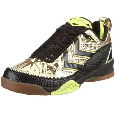 Hummel REBEL LEGEND 1898 60254, Chaussures de handball mixte adulte - Noir-TR-KP.13, 44.5 EU