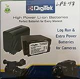 #7: Digitek Canon LP-E17 Battery Pack for Canon EOS 750D, EOS 760D, EOS 800D, EOS 77D