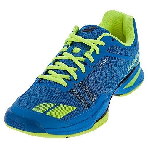 Babolat Jet Team Zapatos de Tenis para Hombre Deportes Zapatillas Entrenadores Azul, Azul, 44.5