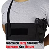 Best Concealed Carry Holsters - Concealed Carry Shoulder Underarm Gun Holster Review
