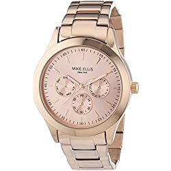Mike Ellis New York SL4-60210A Ladies' Watch, Analogue, Quartz with Stainless Steel Strap