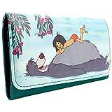 Disney Jungle Book Baloo e Mowgli verde portafoglio