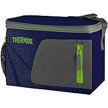 Thermos Radiance - Bolsa térmica (capacidad para 6 latas, 3.5 L), color azul
