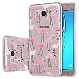 Custodia Galaxy A7 2017 , SUNSU® Ultra Sottile Cover Silicone Case Molle di TPU Trasparente Sottile Protettivo Custodia Per Samsung Galaxy A7 (2017) 5.7'