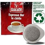 150 Dosettes de Café Expresso ESE Italcaffè Espresso Bar 44mm en Papier Filtre Compostable