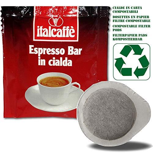 150 ESE Pads Italcaffè Espresso Bar 44mm Kaffeepads Filterpapier Kompostierbar