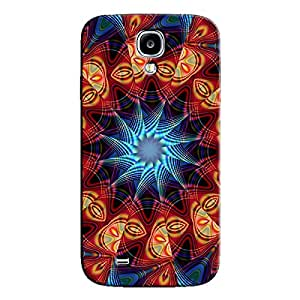 PSYCHEDELIC FRACTAL DESIGN BACK COVER FOR SAMSUNG GALAXY S4