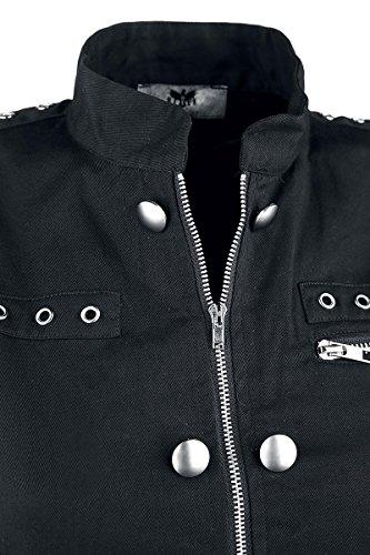 Black Premium by EMP Military Buckle Dress Kleid schwarz Schwarz