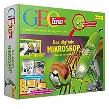 FRANZIS GEOlino - Das digitale Mikroskop | Bis zu 500fache Vergrößerung | Überall mit dabei | Ab 8 Jahren