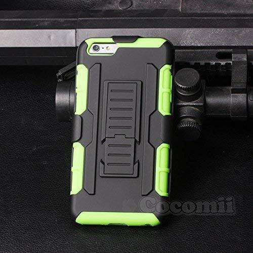 Cocomii Robot Armor iPhone 6S Plus/6 Plus Hülle [Strapazierfähig] Gürtelclip Ständer Stoßfest Gehäuse [Militärisch Verteidiger] Case Schutzhülle for Apple iPhone 6S Plus/6 Plus (R.Green) (Plus Protector 6 Shield Phone I)