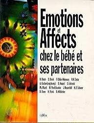 Emotions et affects chez le bébé et ses partenaires