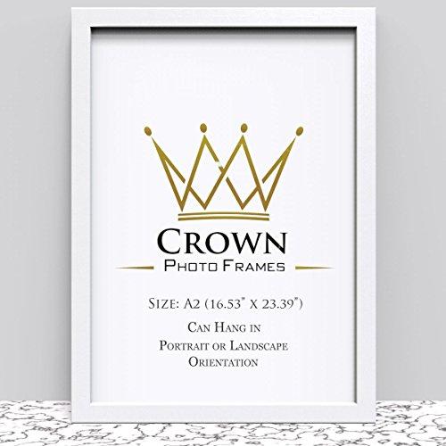 Save 49% - Crown White Photo Frame A2 42 x 59 4 cm 16 53x23