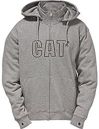 Caterpillar C1910753 - Sweatshirt à capuche et fermeture zippée - Homme