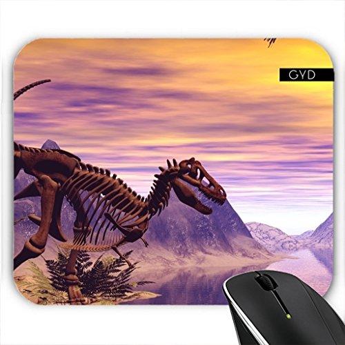 Mousepad - Dinosaurier-Skelett by nicky2342