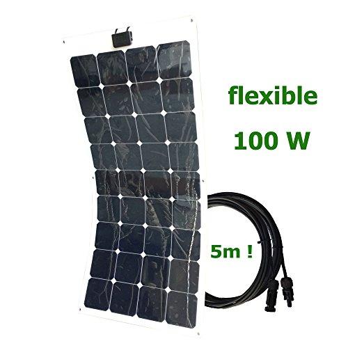 pannello-solare-fotovoltaico-semiflessibile-100w-12v-cavo-5m-sunpower