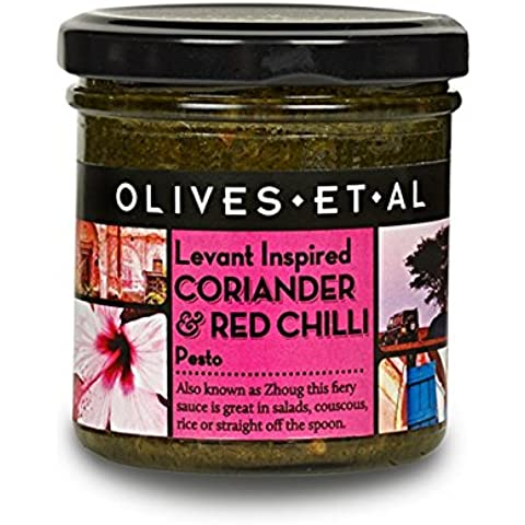 Olives Et Al - Coriander & Red Chilli Pesto - 135g