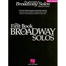 The First Book of Broadway Solos: Mezzo-Soprano Edition (Vocal Collection) by Joan Frey Boytim (1997-09-01)