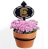 Terri Metall funktioniert Universität von South Carolina Collegiate Logo Wand montiert Blumentopfhalter