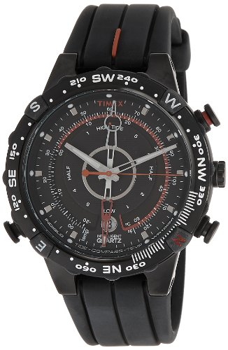 Timex Intelligent Quartz Chronograph Black Dial Men's Watch - T2N720  available at amazon for Rs.7496