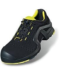 Uvex - Calzado de protección para hombre negro y amarillo, color, talla 49