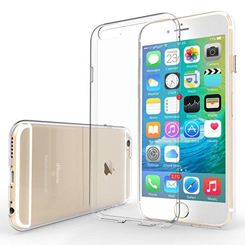 Galleria fotografica Yousave Accessories iPhone 6S / 6 Custodia Protettiva Trasparente Ultrasottile Di Gel In Silicone TPU 0,5 Mm [Misure Perfette]