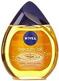 NIVEA Badezusatz mit 87% Ölen für trockene Haut, 1 x 250 ml Glasflasche, Ölbad Beauty