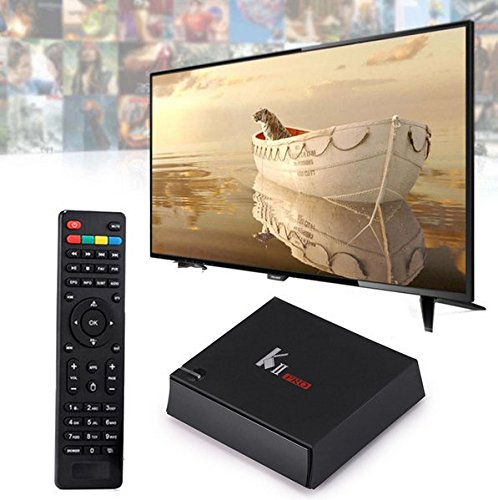 AKTrend® K2 II PRO 2GB RAM , Android 5.1 TV Box + DVB-S2+DVB-T2 , 16GB ROM , IPTV , 4K UHD , Mediabox Smart HD TV , Android 5.1.1 , Multimedia-Player , HD Streaming Media Player, Full HD, HDMI , 4x USB, SD-Kartenslot, WiFi, Ethernet, Android, Multimedia-Station)