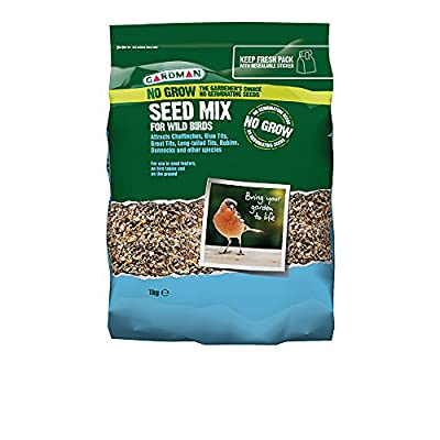 Gardman A06560 No Grow Seed Mix, Multi-Colour, 1 kg