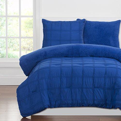 siscovers ppbb-xqutw2Crayola Verspielte Plüsch Tröster Sets, Blue Berry, Twin