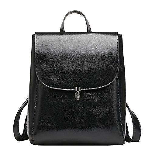 Mefly La Nuova Primavera Ed Estate La Pelle Di Alta Qualità Borsetta In Pelle Alla Moda Nero Borsa black