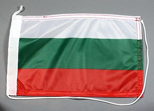 Preisvergleich Produktbild Bootsflagge Bulgarien 20 x 30 cm in Profiqualität Flagge Motorradflagge