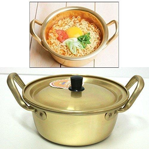 """Korea Noodle Pot / Hot Shin Ramyun Aluminum Pot 6.3""""(16cm)/ Traditional HOT POT by Korea Noodle Pot"""