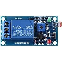 1 PC 12 V Stabiler Lichtsensor Schalter LDR Photowiderstand Relaismodul Controler
