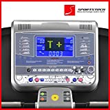 Sportstech F65 Profi Laufband mit 7 Zoll Display 8.5 PS 25 km/h extra große 1600x600mm Lauffläche HRC Funktion 109 Programme - 3