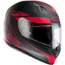 HJC FG-17fuerza casco de moto, mujer hombre, rojo, small