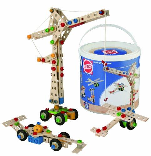 Simba Smoby Heros - Cubo de bloques de construcción (170 piezas)