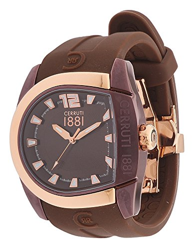 CERRUTI Men's Quartz Watch CRF001L555I - Brown