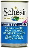 Schesir Aliment pour Chats Thon et Aloe 140g, Lot de 8(8x 140g)