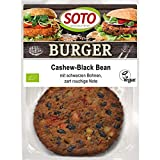 SOTO Bio Burger Cashew-Black Bean (6 x 160 gr)