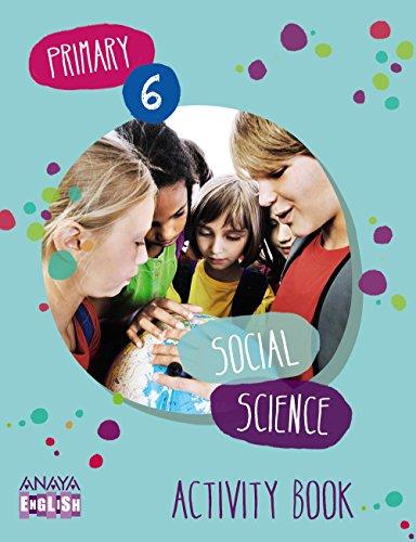 Social Science 6. Activity Book. (Anaya English) - 9788467881400