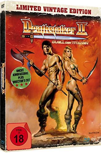 Deathstalker 2 - Duell der Titanen - uncut Vintage Edition (+ DVD) - Mediabook, limitiert auf 1.500 Stück, inkl. Booklet, HD ne